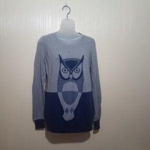 Wallace owl sweater size XS